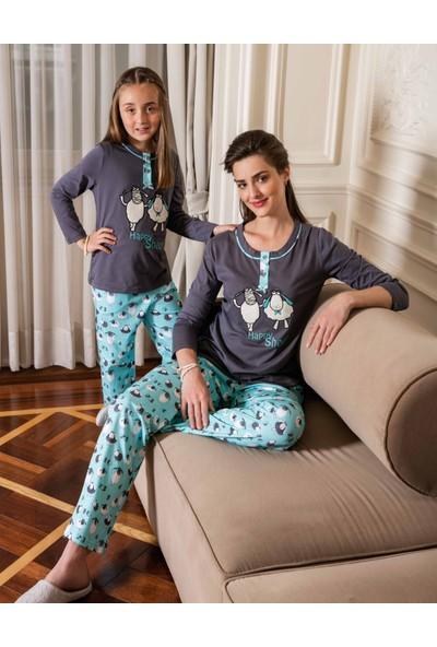 Yeni İnci CKP-278 Süprem Kız Çocuk Pijama Takımı