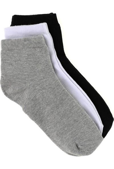 Elif Çamaşır 12'Li Paket Ekonomik Erkek Patik Çorap Asorti