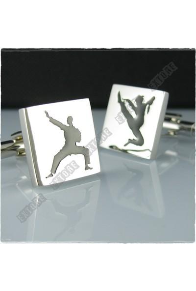 Extore Kol Düğmesi Karate Tekvando Spor Kd058