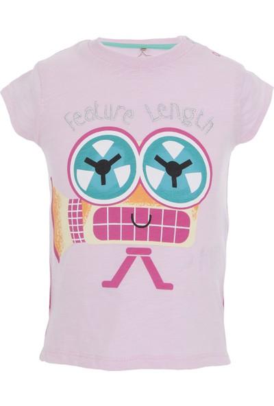 Soobe Retro Play Kolsuz T-Shirt Pembe 0 - 3 Ay