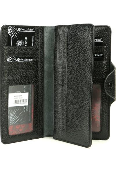 Cengiz Pakel Kadın Deri Cüzdan Kartlık Modelleri 65142