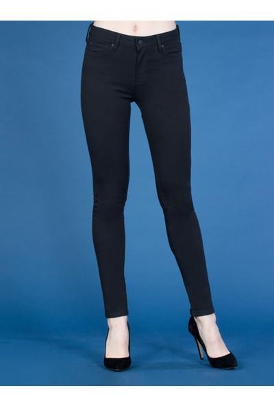 Colins 759 Lara Super Slim Fit Orta Bel Skinny Leg Kadın Siyah Jean Pantolon