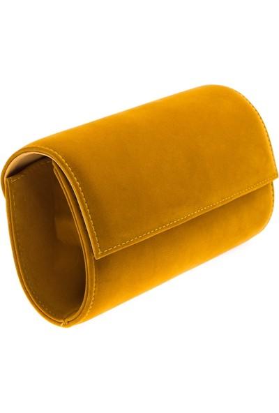 Modabuymus Loce Hardal Sarısı Bayan Abiye Çanta