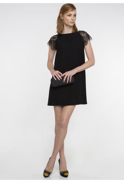 Nelida Kolları Fransız Dantelli Elbise