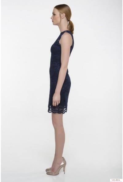 Nelida Fransız Dantelli Elbise