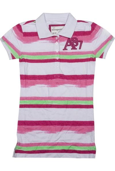 Aeropostale 4280-Raspber Kadın T-Shirt