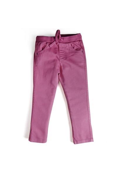 Soobe Unisex Çocuk Pantolon Pembe