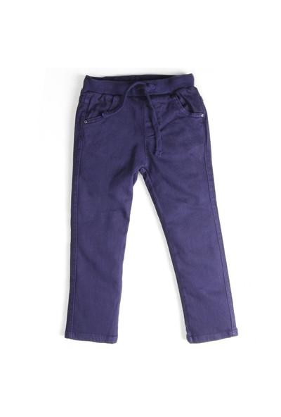 Soobe Unisex Çocuk Pantolon Lacivert