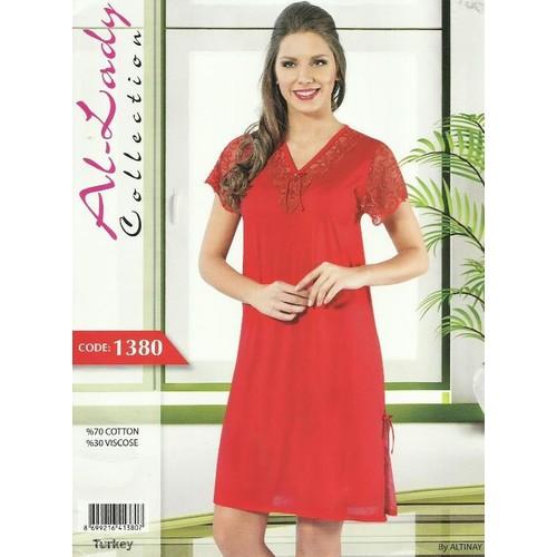 Al-Lady Gecelik 1380 Kırmızı