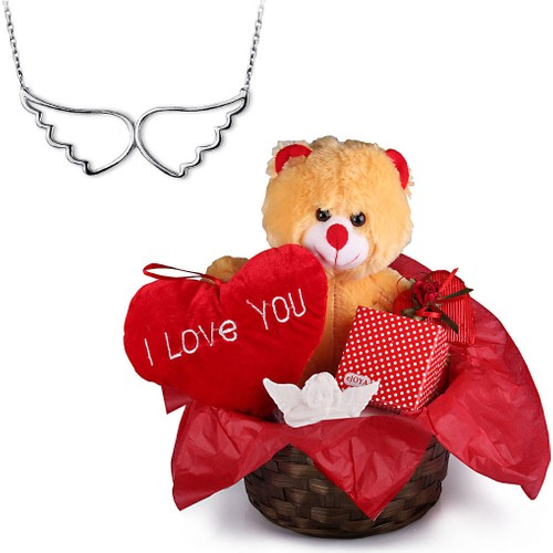 """eJOYA Sevgililere Özel Hediye Paketi """"Seni Seviyorum"""""""