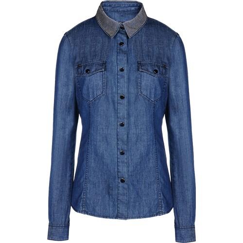 Armani Jeans Gömlek Kadın Uk Gömlek 6X5C455Dyazc1500