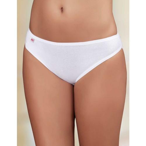 Şahinler Lastik Biyeli Pantolon Ribana Külot Beyaz MB023