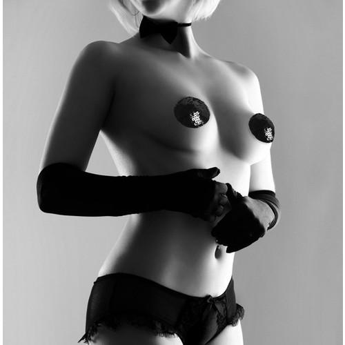 Bijoux Indiscrets Burlesque Göğüs Ucu Bandı Payetli