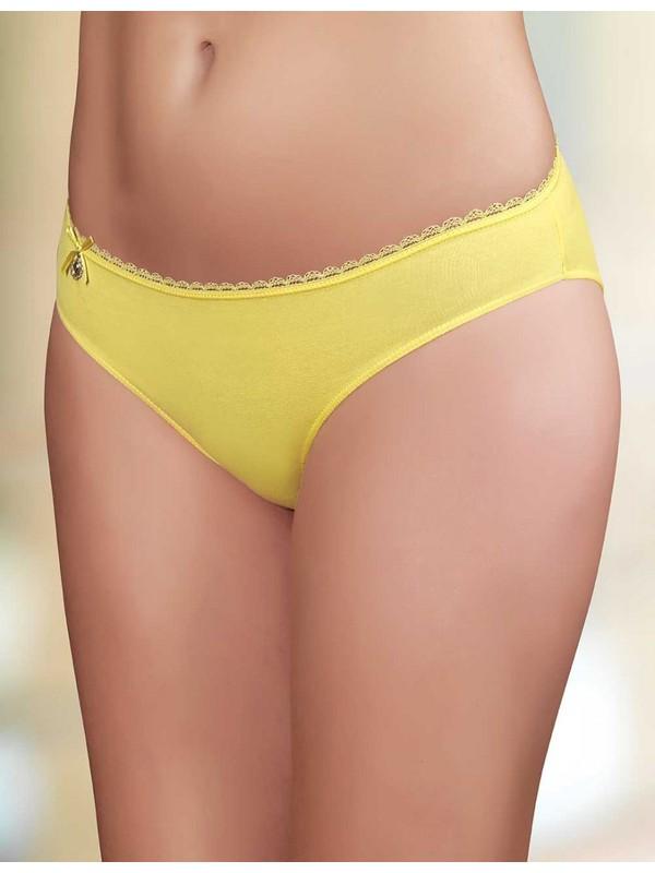 Şahinler Kadın Sarı Metal Süslü Külot MB3020