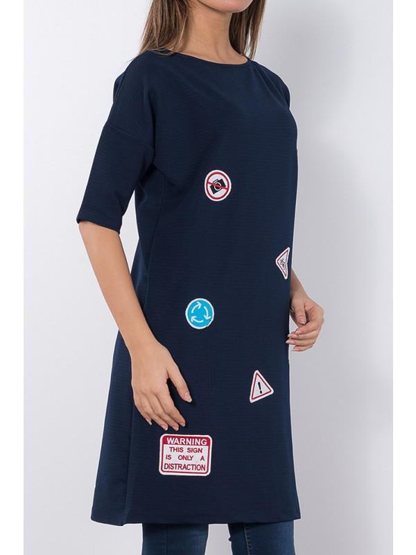 Modaverda Bayan Uzun Armalı Tunik