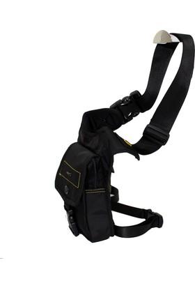 Ççs 31034-S Siyah Bacak Bel Çantası Body Bag