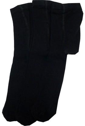 Lababy Kız - Erkek Bebek Çocuk Külotlu Çorap Siyah 3'lü Paket