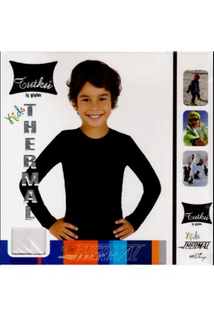 Tutku Erkek - Kız Çocuk Termal Atlet (Badi)