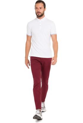 Cacharel Erkek Dokuma Spor Pantolon Kırmızı