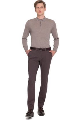 Cacharel Erkek Dokuma Spor Pantolon Gri