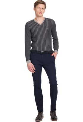 Cacharel Erkek Dokuma Spor Pantolon Lacivert