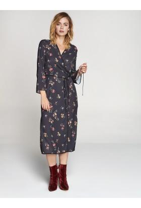 Faik Sönmez Kimono Lacivert 36222