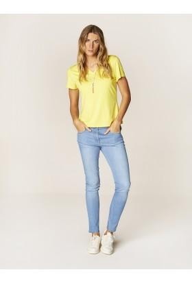 Faik Sönmez T-Shirt Sarı 36022