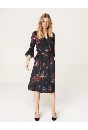 Faik Sönmez Elbise Siyah 35077