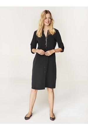 Faik Sönmez Elbise Siyah 35097