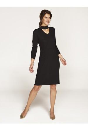 Faik Sönmez Elbise Siyah 36470