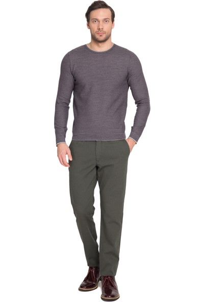 Cacharel Erkek Dokuma Spor Pantolon Yeşil