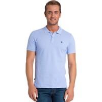 U.S. Polo Assn. G081sz011.000.70992.Pb0137 Polo Yaka T-Shirt Mavi