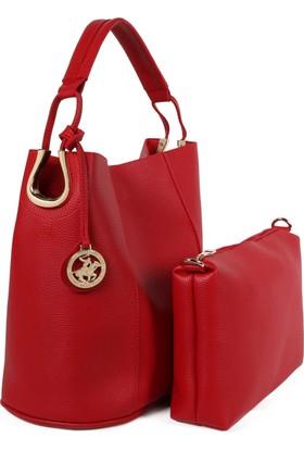 Beverly Hills Polo Club 650Bhp0668 Kırmızı Kadın Çanta