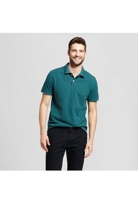 Dc Staple 3 Short Sleeve Polo Dkcheblue Tişört