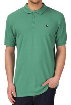 Dc Staple 3 Short Sleeve Polo Evergreen Tişört