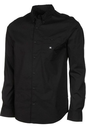 Dc Anvil Ls Long Sleeve Shirt Black Gömlek
