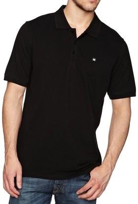 Dc Staple 3 Short Sleeve Polo Black Tişört