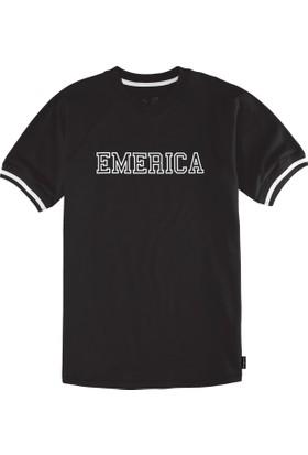Emerica Iverson Ss Crew Black Tişört