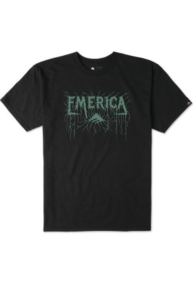 Emerica Metal Black Tişört