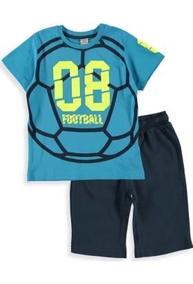 LC Waikiki Erkek Çocuk T-Shirt Ve Şort Takımı