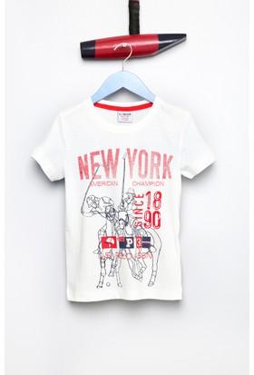 U.S. Polo Assn. Erkek Çocuk Luan T-Shirt Bej