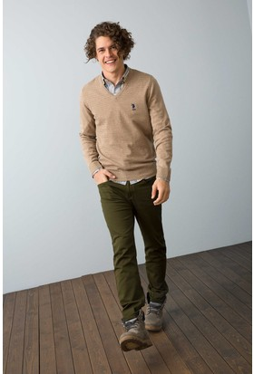 U.S. Polo Assn. Erkek Carlos7S Pantolon Yeşil