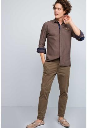 U.S. Polo Assn. Erkek Giuseppe7S Pantolon Kahverengi