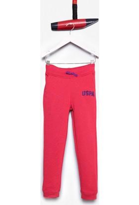 U.S. Polo Assn. Kız Çocuk Pantolon Pembe