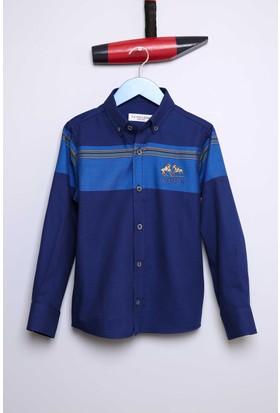U.S. Polo Assn. Erkek Çocuk Bonykids Gömlek Lacivert