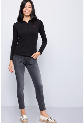 U.S. Polo Assn. Kadın Alba-Gr Pantolon Gri
