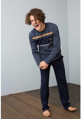 U.S. Polo Assn. Erkek 17507 Pijama Lacivert