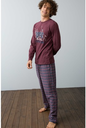 U.S. Polo Assn. Erkek 17516 Pijama Kırmızı