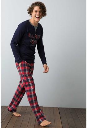 U.S. Polo Assn. Erkek 17518 Pijama Lacivert