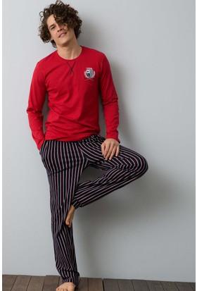 U.S. Polo Assn. Erkek 17531 Pijama Kırmızı
